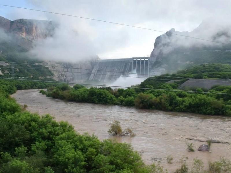 Julio cierra con excelentes aportaciones al Sistema Río Fuerte