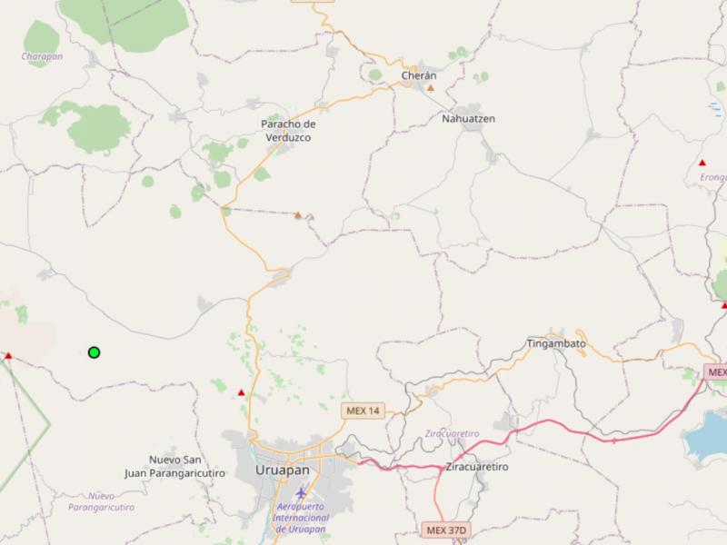 Julio segundo mes con mayor registro de sismos en Michoacán