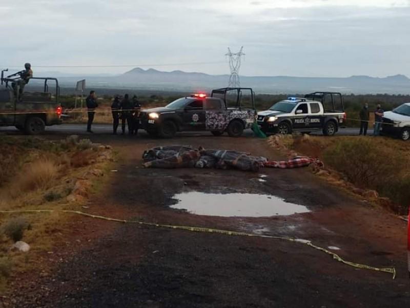 Junio el mes más violento en años en Zacatecas