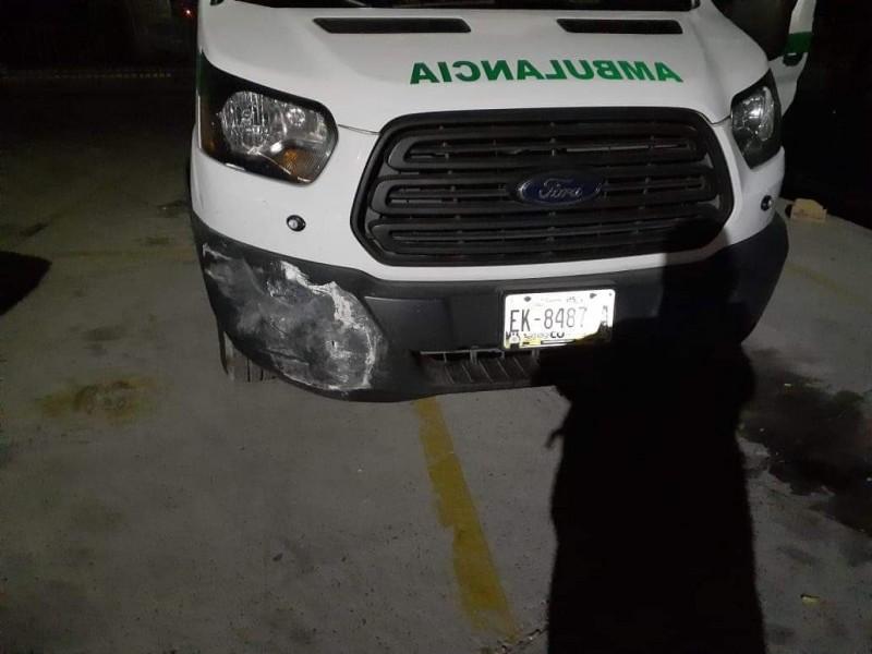 Justicia Municipal cierra caso de ambulancia del IMSS
