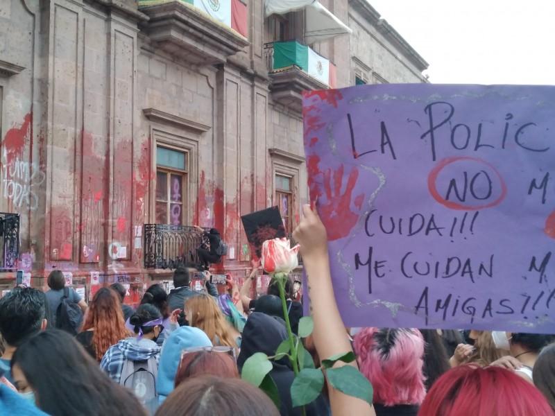 ¡Justicia para Jessica!, gritan en el Centro de Morelia