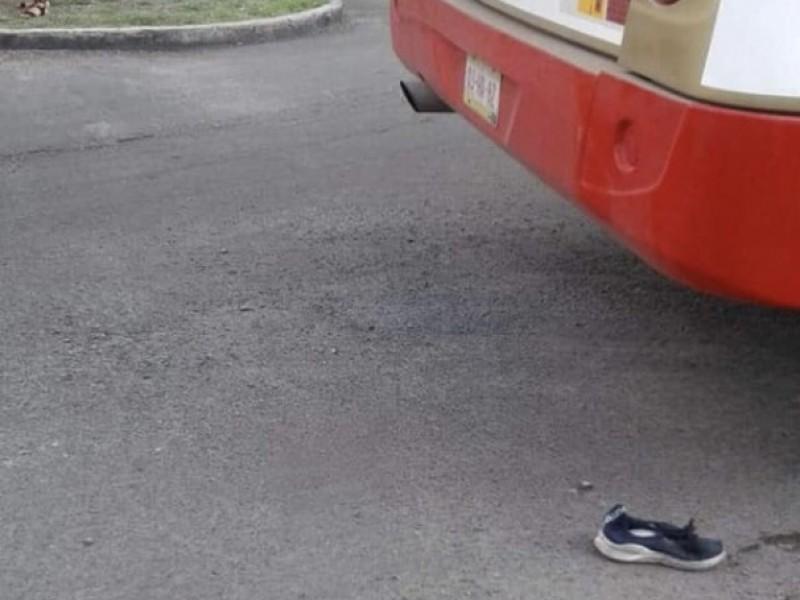 Justicia para señora atropellada por transporte público
