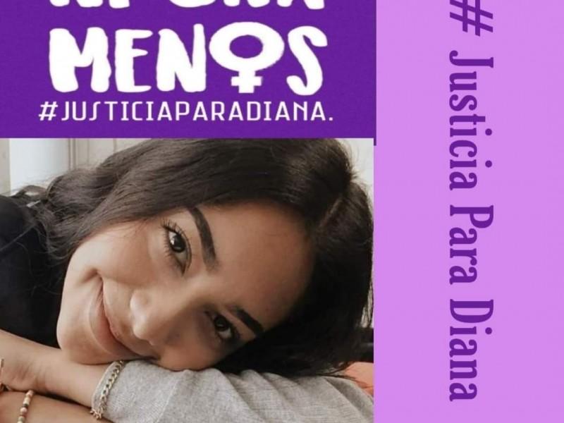 #JusticiaparaDiana. Sociedad tepicense indignada por muerte de Diana Raygoza