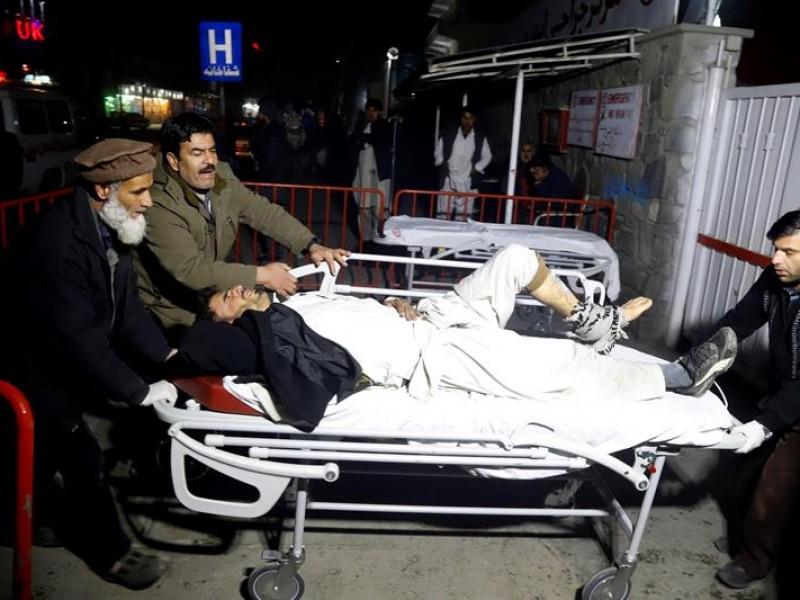 Kabul, 4 fallecidos y 90 heridos en atentado