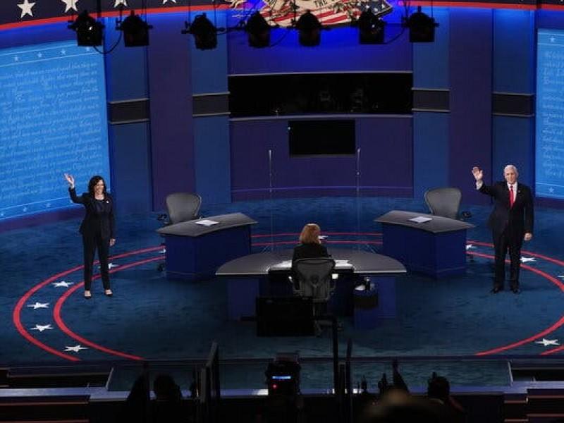 Kamala Harris y Mike Pence se encuentran en debate