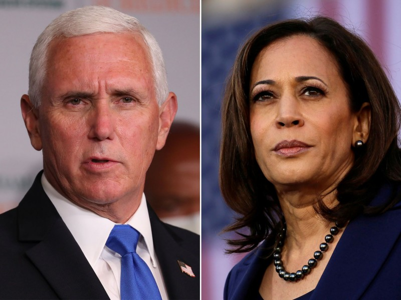 Kamala Harris y Mike Pence se enfrentarán en un debate