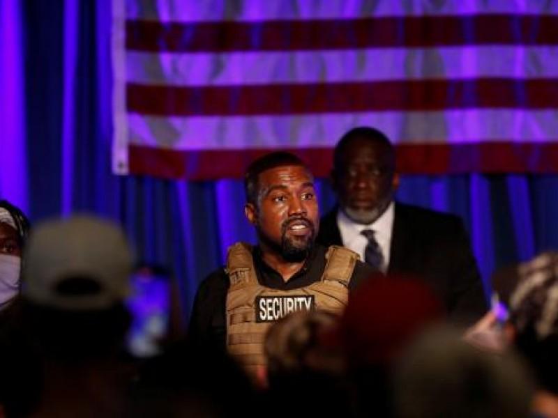 Kanye West lanzó su candidatura a presidente de EU
