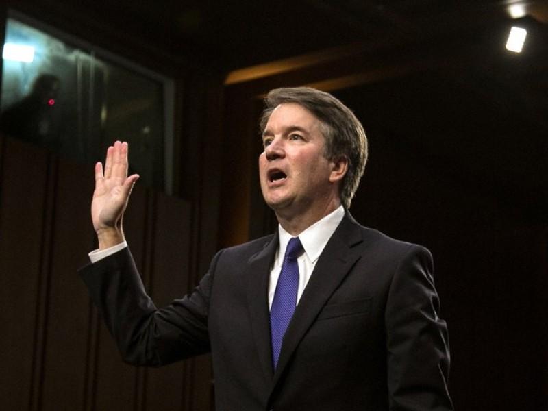 Kavanaugh juramenta como magistrado de la Corte Suprema