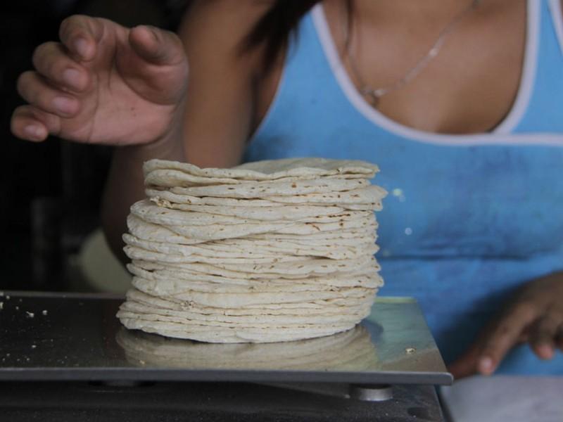 Kilogramo de tortilla, podría alcanzar los 20 pesos en Chiapas