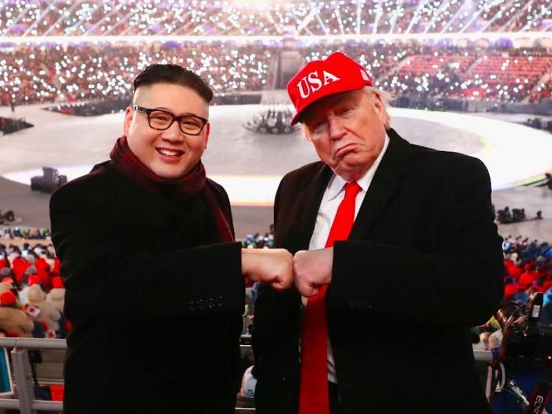 Kim y Trump encabezan reunión de delegaciones