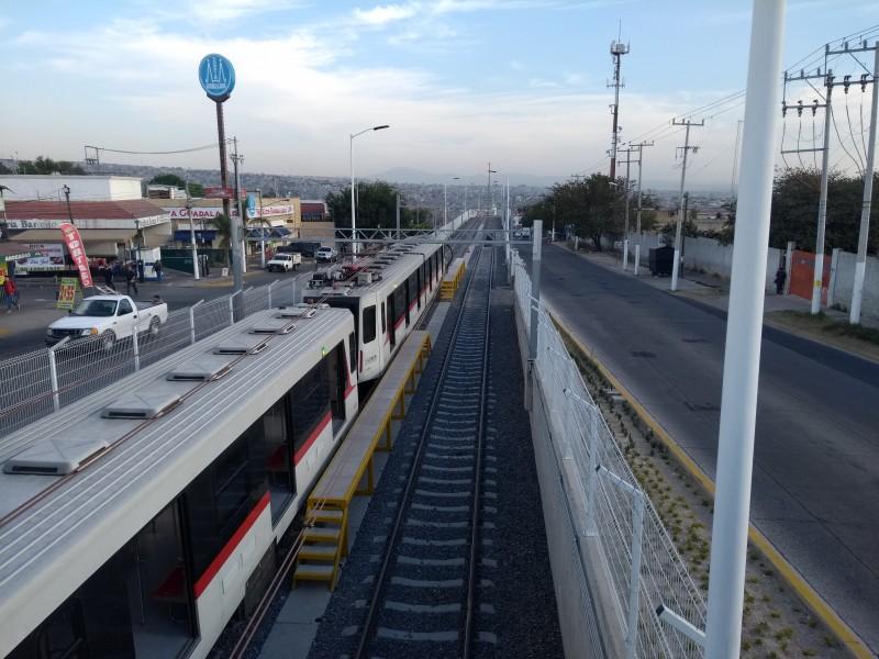 L1 del tren ligero incumple con trenes triples