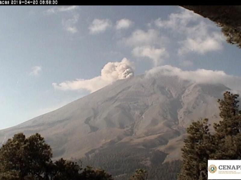 La actividad volcánica ha disminuido