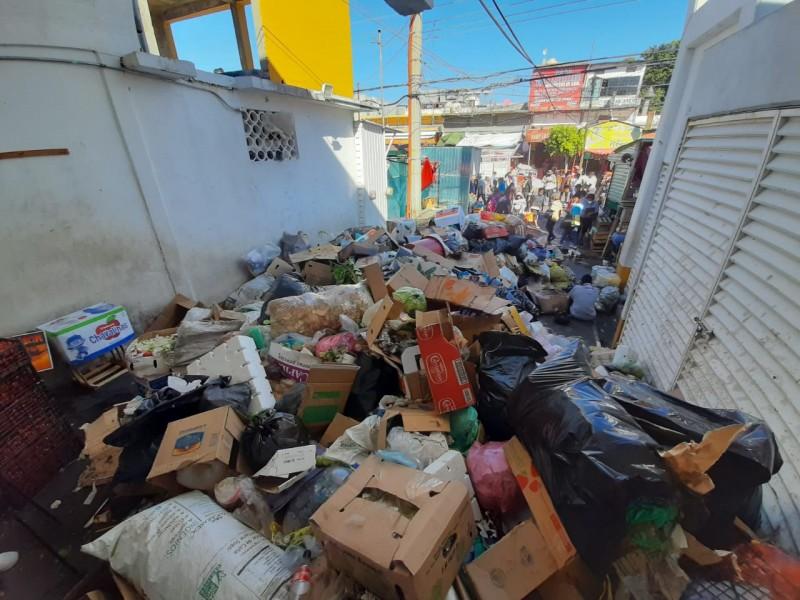La basura, bandera de protestas en Salina Cruz