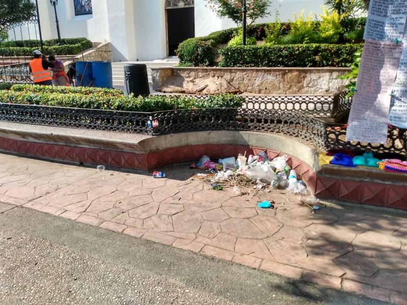 La basura es responsabilidad de toda la ciudadanía