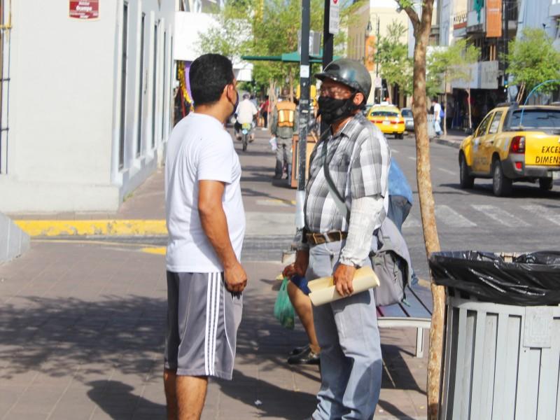 La calle, lugar de mayor riesgo por Covid-19: Salud Colima