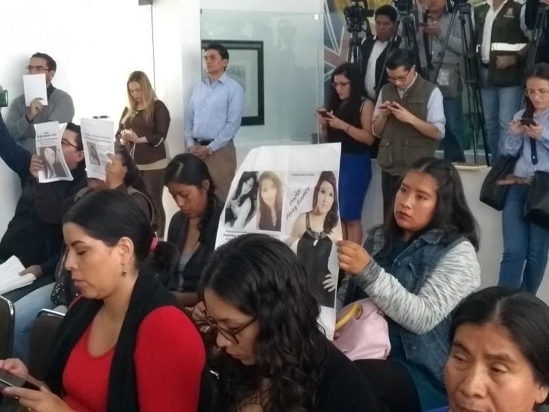 Desapariciones forzadas aumentaron 216 % en Puebla