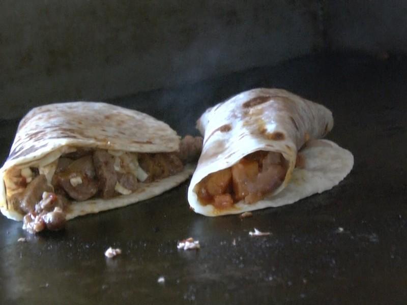 La esquina choyera; comida típica de la Baja