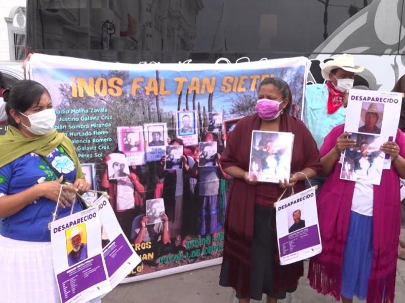 La fiscalía muestra avances de la búsqueda de Yaquis desaparecidos