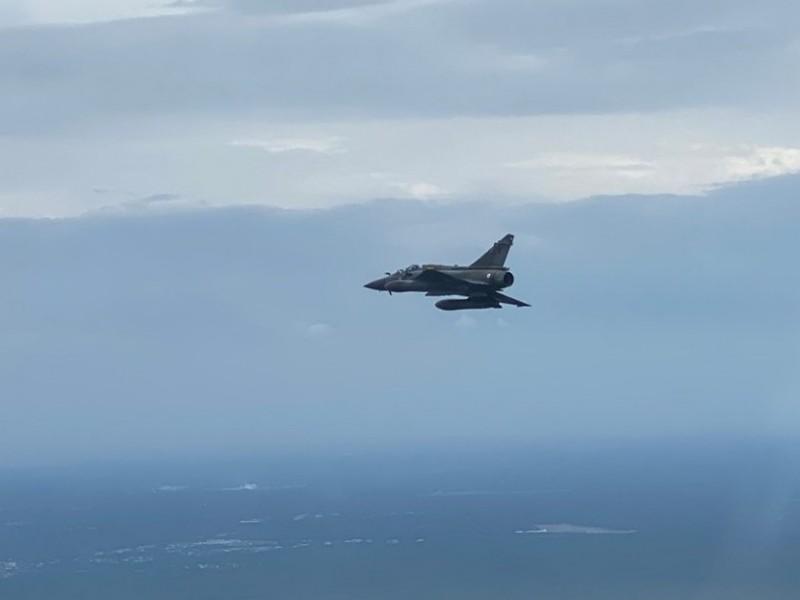 La Fuerza Aérea francesa busca bomba perdida durante ejercicios militares