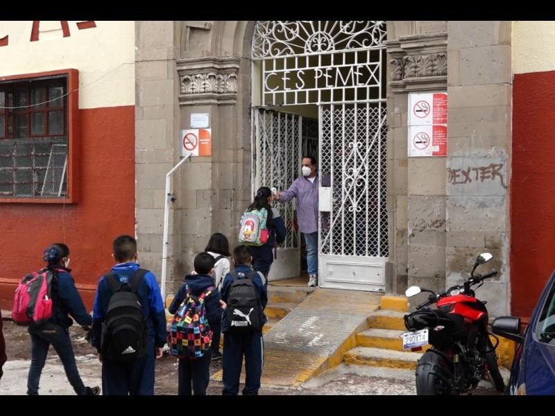 📹La intención no es cerrar escuelas ante casos covid: SEG