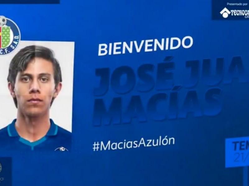 La llegada de J.J. Macías a Getafe se hace oficial