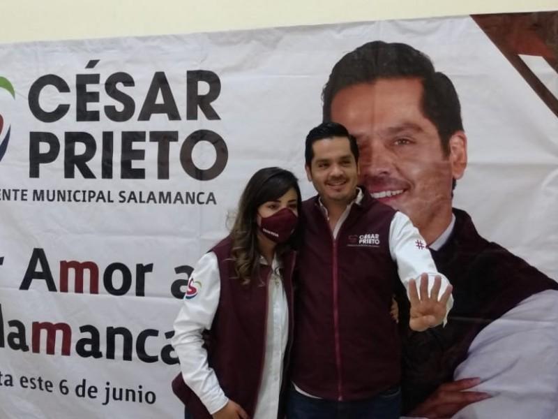 📹Mujer, elemento valioso en la administración pública:César Prieto