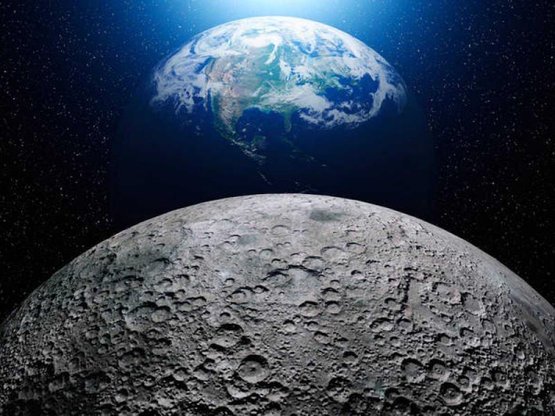 La NASA detecta agua en la luna