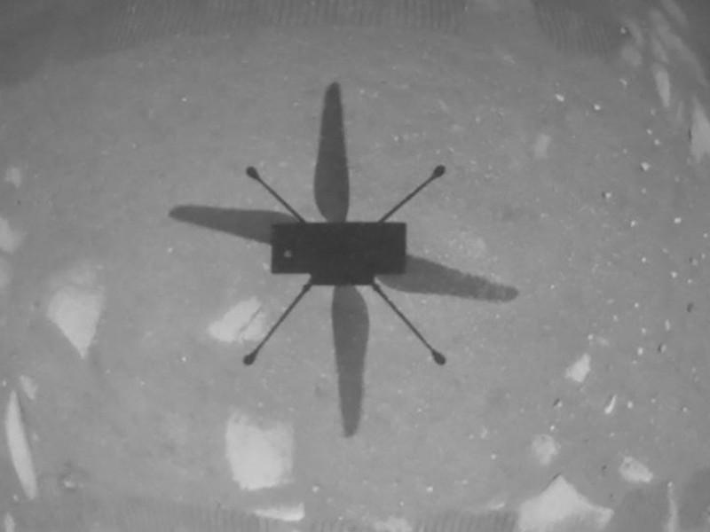 La NASA logra sobrevolar helicóptero Ingenuity sobre la superficie marciana