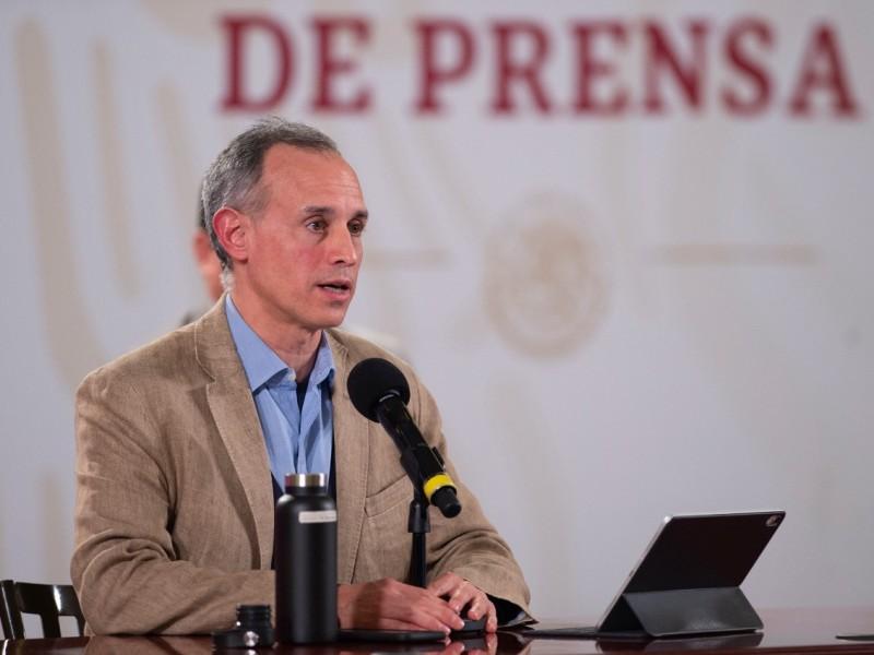 La pandemia ya presenta una desaceleración: López Gatell