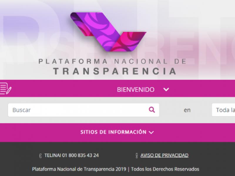 Plataforma Nacional de Transparencia contará con buscador más ágil