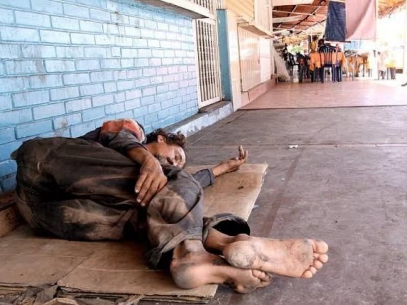 La pobreza es el principal causa de indigencia