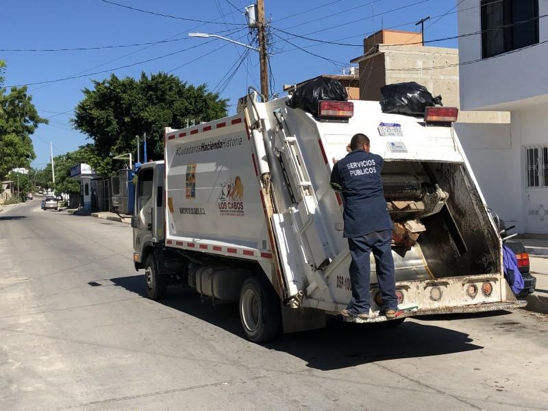 La recolección de basura se regularizará en un mes