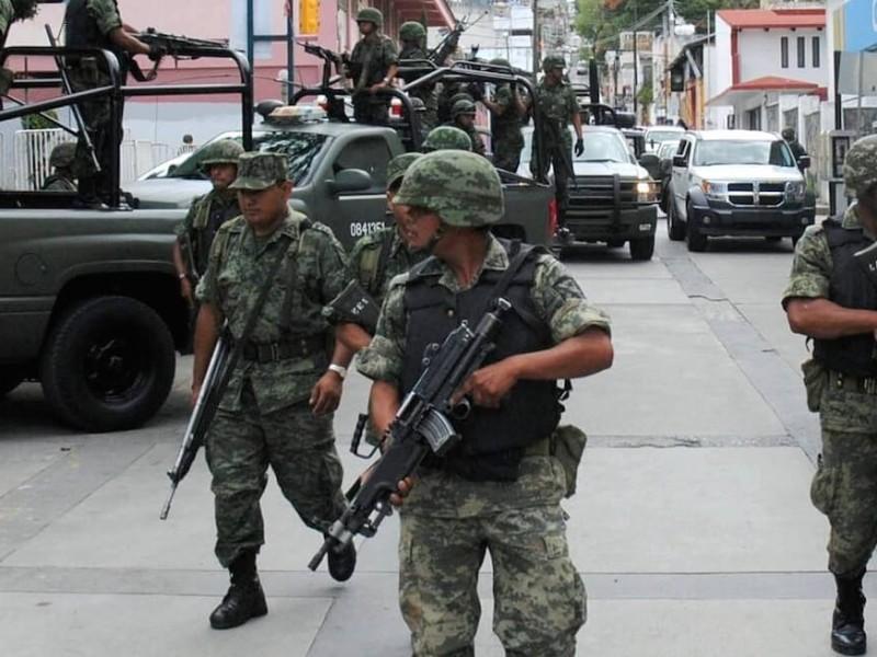 La seguridad mejorará con el ejército en las calles: Encuesta