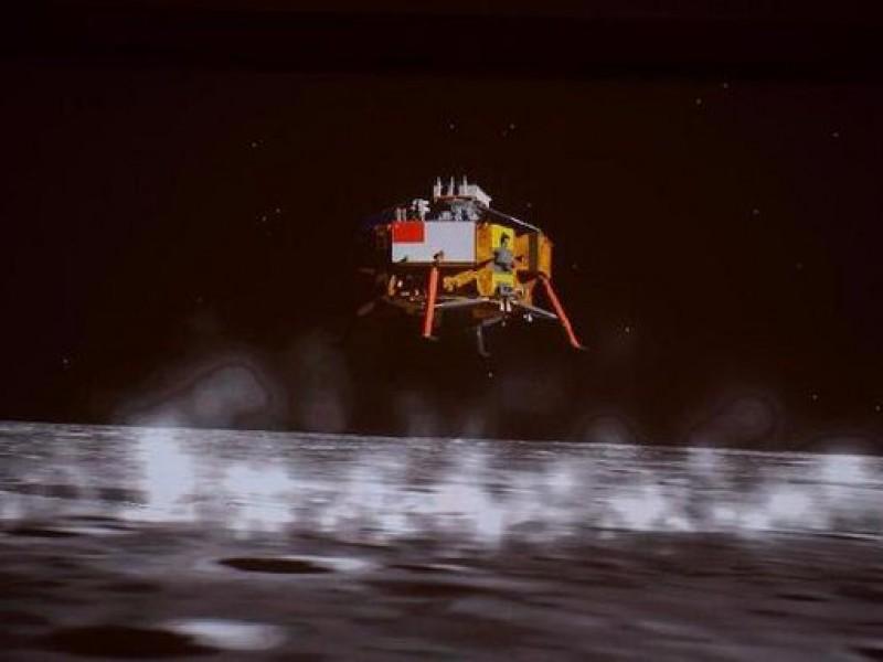 La sonda china Chang'e-5, alunizó con éxito