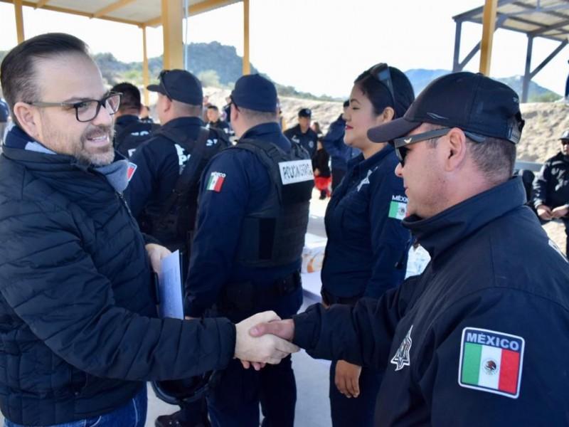 La SSP apoya a municipios en el fortalecimiento de sus corporaciones municipales