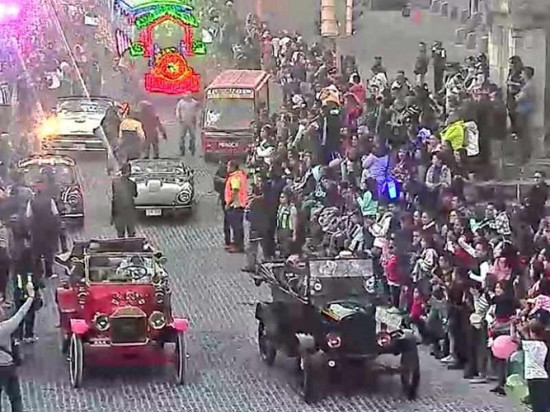 La SSPTM formó parte del Desfile de Reyes
