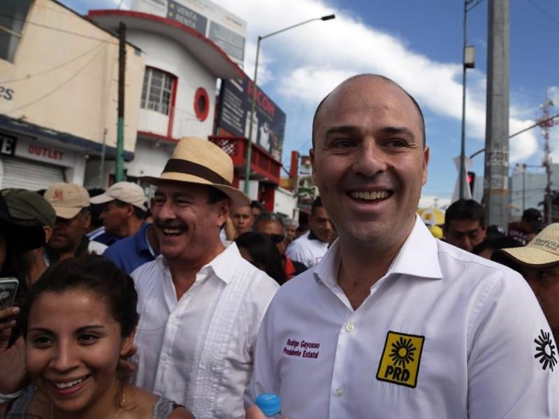 Rodrigo Gayosso busca la transformación de Morelos