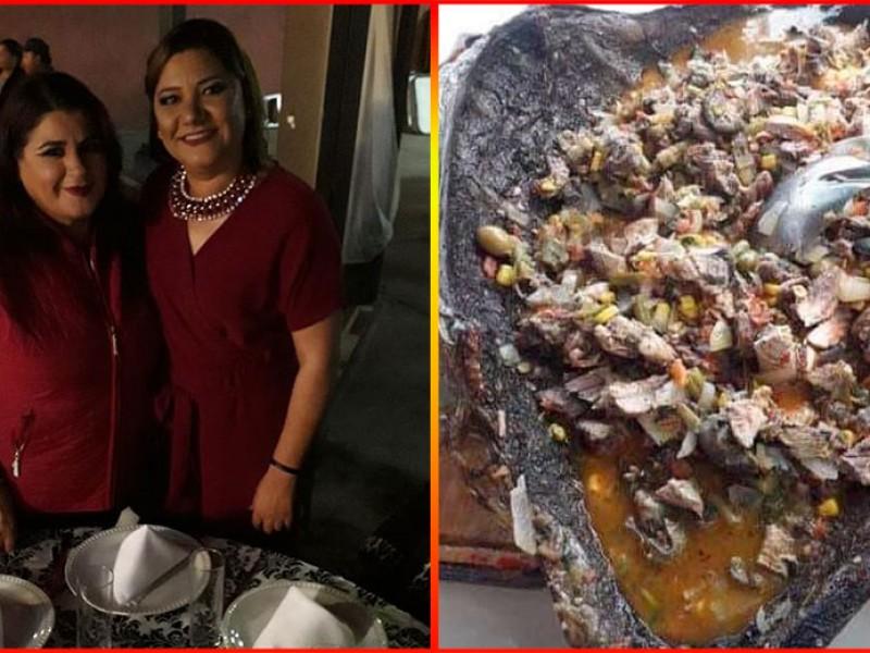 Lady Caguama: Regidora presume comer tortuga en peligro de extinción
