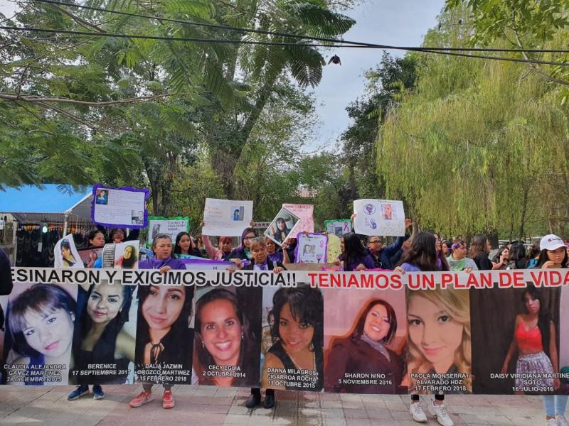 Laguneras toman las calles en protesta por violencia de género