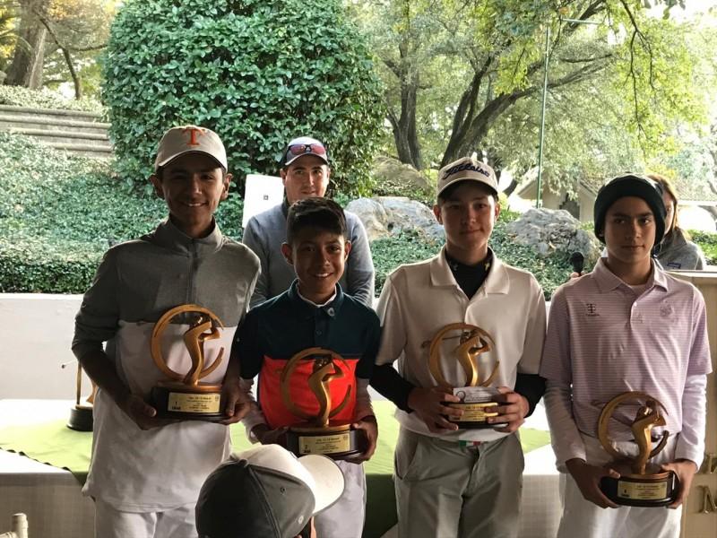 Laguneros brillan en gira infantil de golf