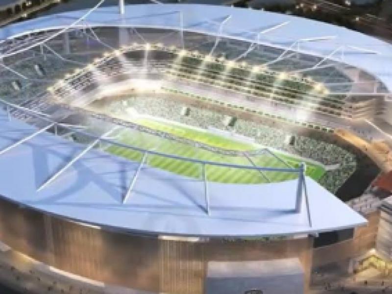 Lamentan Empresarios que obras de nuevo estadio no avancen