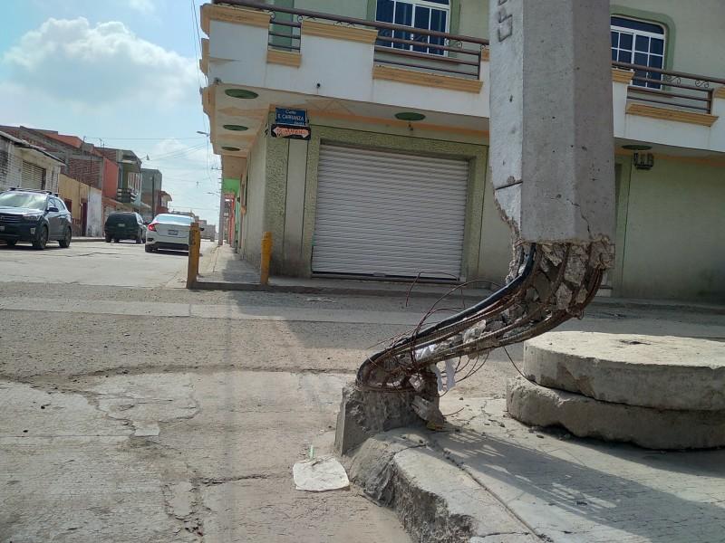 Lamentan en Romita, falta de atención en calles
