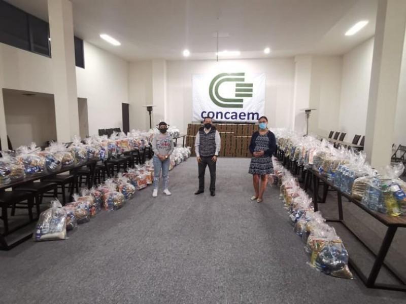 Lanza CONCAEM colecta para desempleados por COVID-19