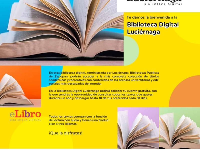 Lanza Zapopan biblioteca virtual con más de 106 mil títulos