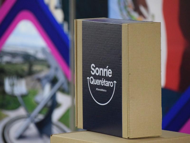 Lanzan caja de productos queretanos: Sonríe Querétaro