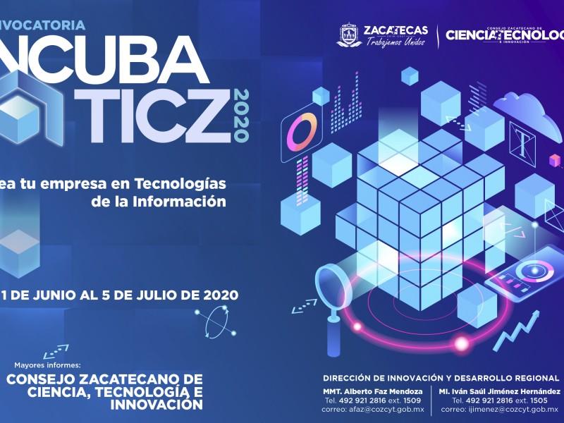 Lanzan convocatoria Incubaticz 2020