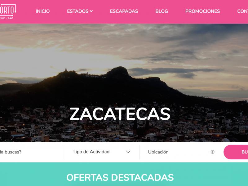 Lanzan plataforma de promoción turística, incluye a Zacatecas