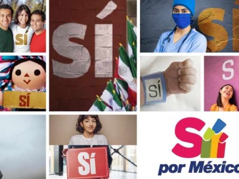 Lanzan proyecto 'Sí por México' que reta a partidos políticos