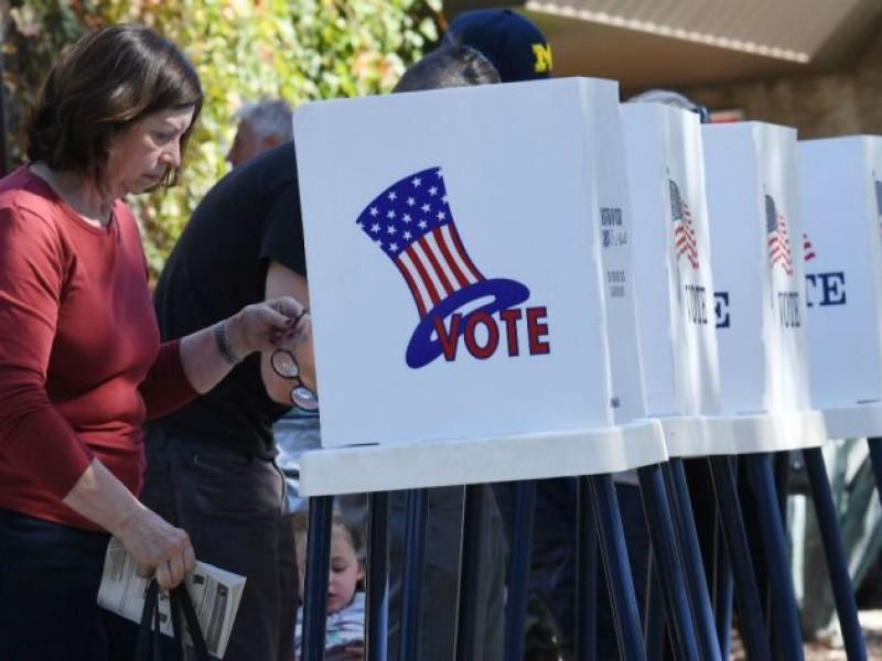 Largas filas en EUA para votar