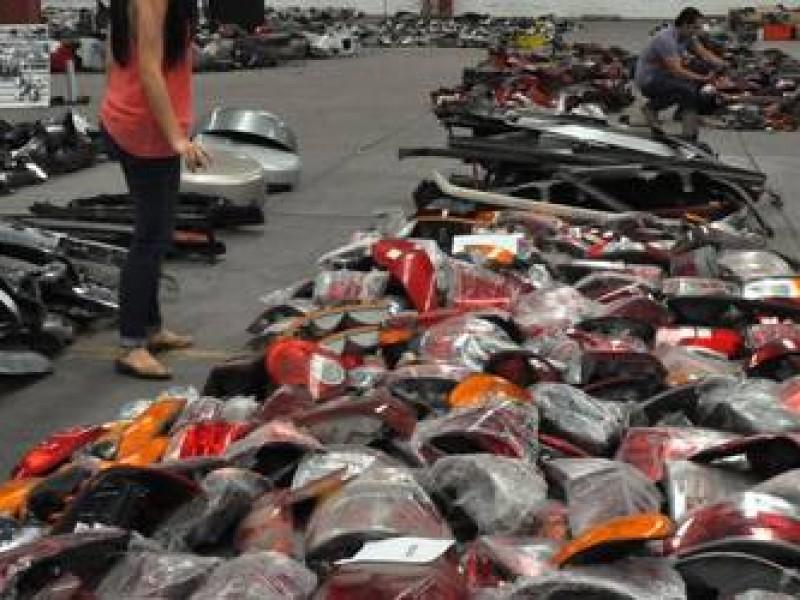 Las 5 autopartes más robadas en México